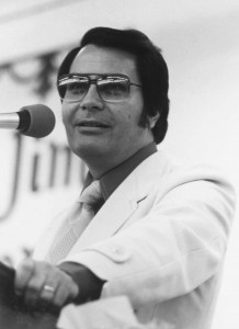 Jim Jones / photo courtesy of The Jonestown Institute