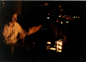 Daniel Buckley at work in the 1980s