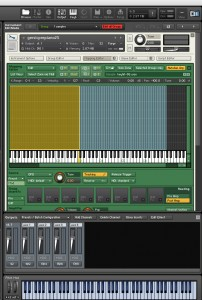 Using Native Instruments' Kontakt sampling software to map prepared piano samples.