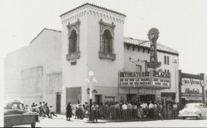 Cine Plaza Theater, downtown Tucson, around 1950s