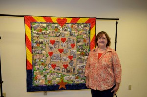 Arizona Quilt Centennial Project, Claire Shortridge