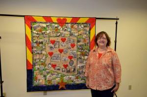 Arizona Quilt Centennial Project, Claire Shortridge