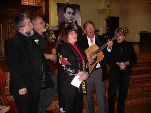 Ronstadt family at Lalo Guerrero memorial