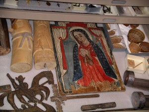Spanish colonial era artifacts