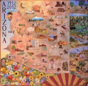 Arizona Centennial Quilt