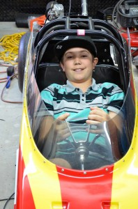 12-year-old Alex Gray is a champion drag racer, as well as an accomplished quilter.