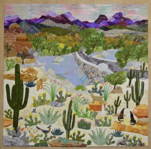 Tucsonan Sandy Lambert's &quot;Abundance - Sabino Canyon&quot;
