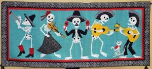 """Nancy Arseneault's """"Mariachi de los Muertos """""""