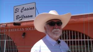 Producer Daniel Buckley at El Casino Ballroom