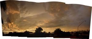Sunset, 07/15/12