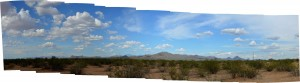 West of the Tucson Mountains
