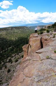 Buckley near Los Alamos, NM, 2014.