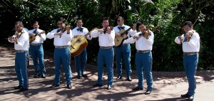 Mariachi Cobre performs at Disney's Epcot Center in Orlando, Fla.