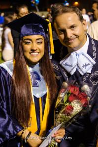 Destiny Felix, John Contreras, Pueblo graduation