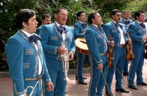 Mariachi Cobre performs at Disney's Epcot Center