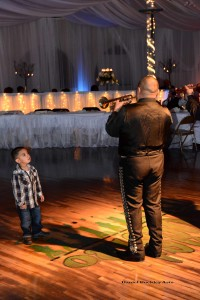 A future mariachi is born at El Casino Ballroom.
