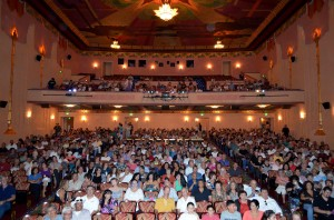 "Crowd at the Fox Theatre Tucson for the August, 2012 premiere of ""Tucson's Heart and Soul: El Casino Ballroom."""