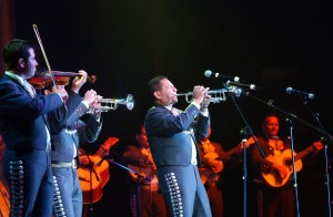 Mariachi Cobre performs at the Tucson International Mariachi Conference.