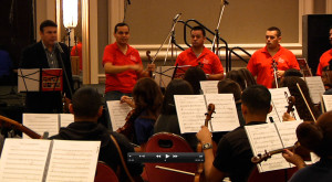 2013 Tucson International Mariachi Conference masters workshop, taught by Jose Hernandez and Mariachi Sol de Mexico.