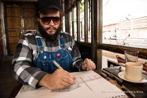 Artist Danny Martin