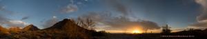 Gates Pass at Sundown