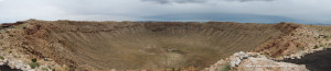 Meteor Crater 05/29/14 panorama by Daniel Buckley.