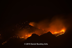 Finger Rock Fire, 10:45 p.m., 08/05/15