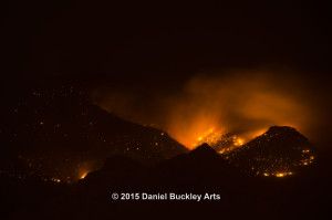 Finger Rock Fire 08/06/15 1:15 a.m.