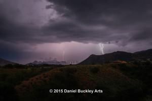 Patagonia lightning 7:44 p.m. 08/07/15