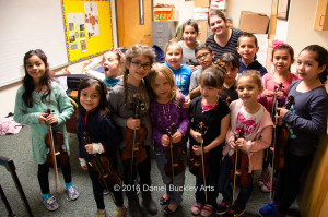 Beginning violins at Davis