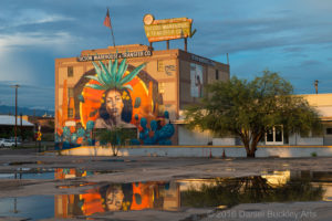 Goddess of Agave - mural by Cyfi Rock Martinez, c/o Tucson Arts Brigade