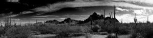 A panorama of Raggedtop Mountain.