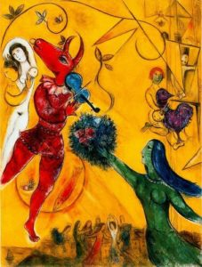 Marc Chagall: The Dancer