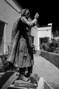 Statue of Father Kino at the Arizona History Museum